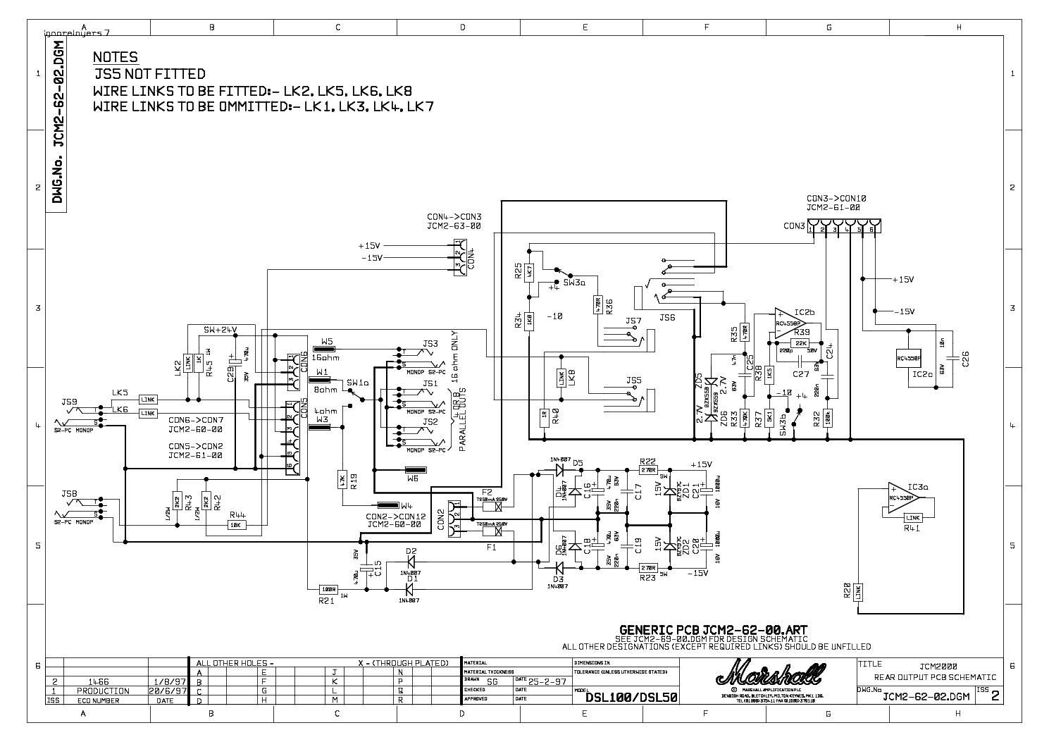 marshall_jcm2 62 02 iss2_rear_board_sch.pdf_1 marshall mg30dfx wiring diagram wiring diagram and schematic sx460 avr wiring diagram pdf at bayanpartner.co