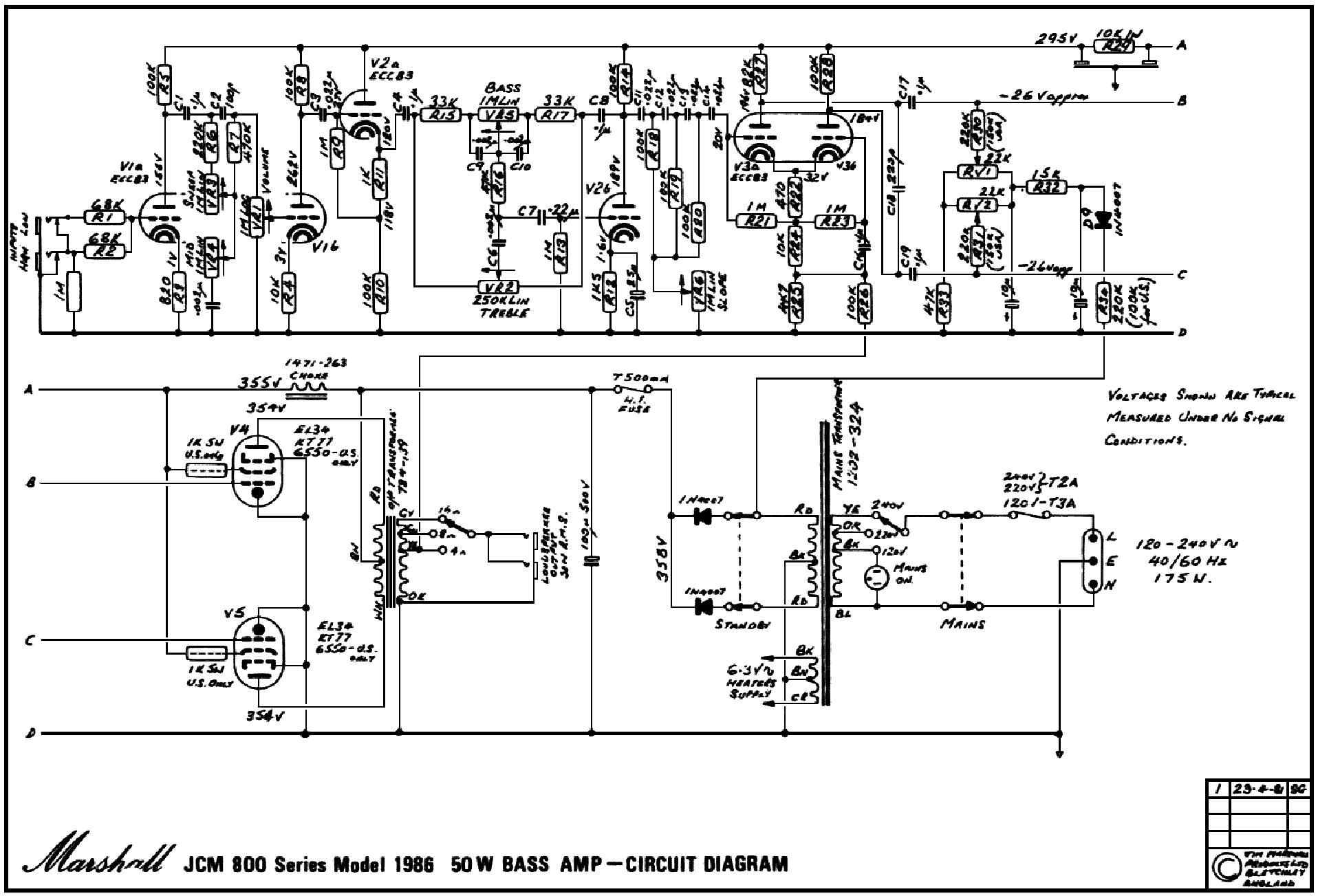 marshall jcm 800 model 2210 manual