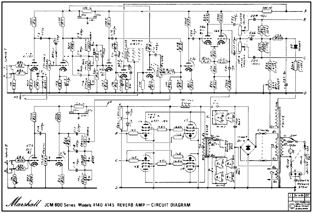 marshall jcm800 wiring diagram wiring diagram and schematic ax84 the cooperative guitar schematic