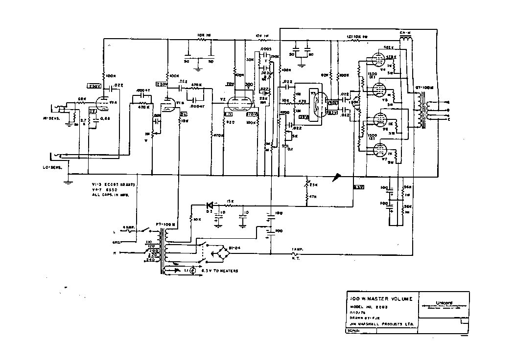 schematic fender ab868 layout akai schematics