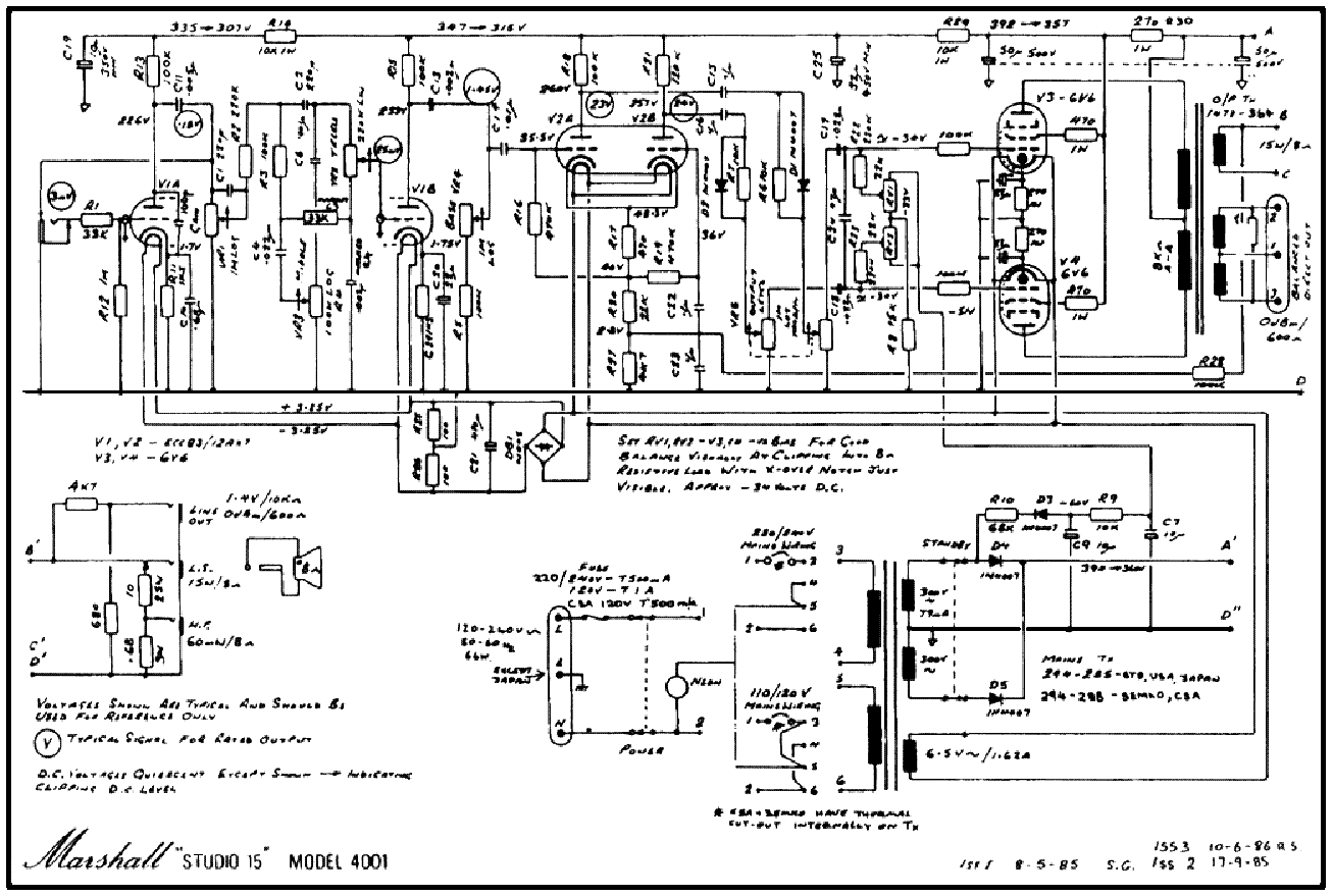 wiring diagram jcm800