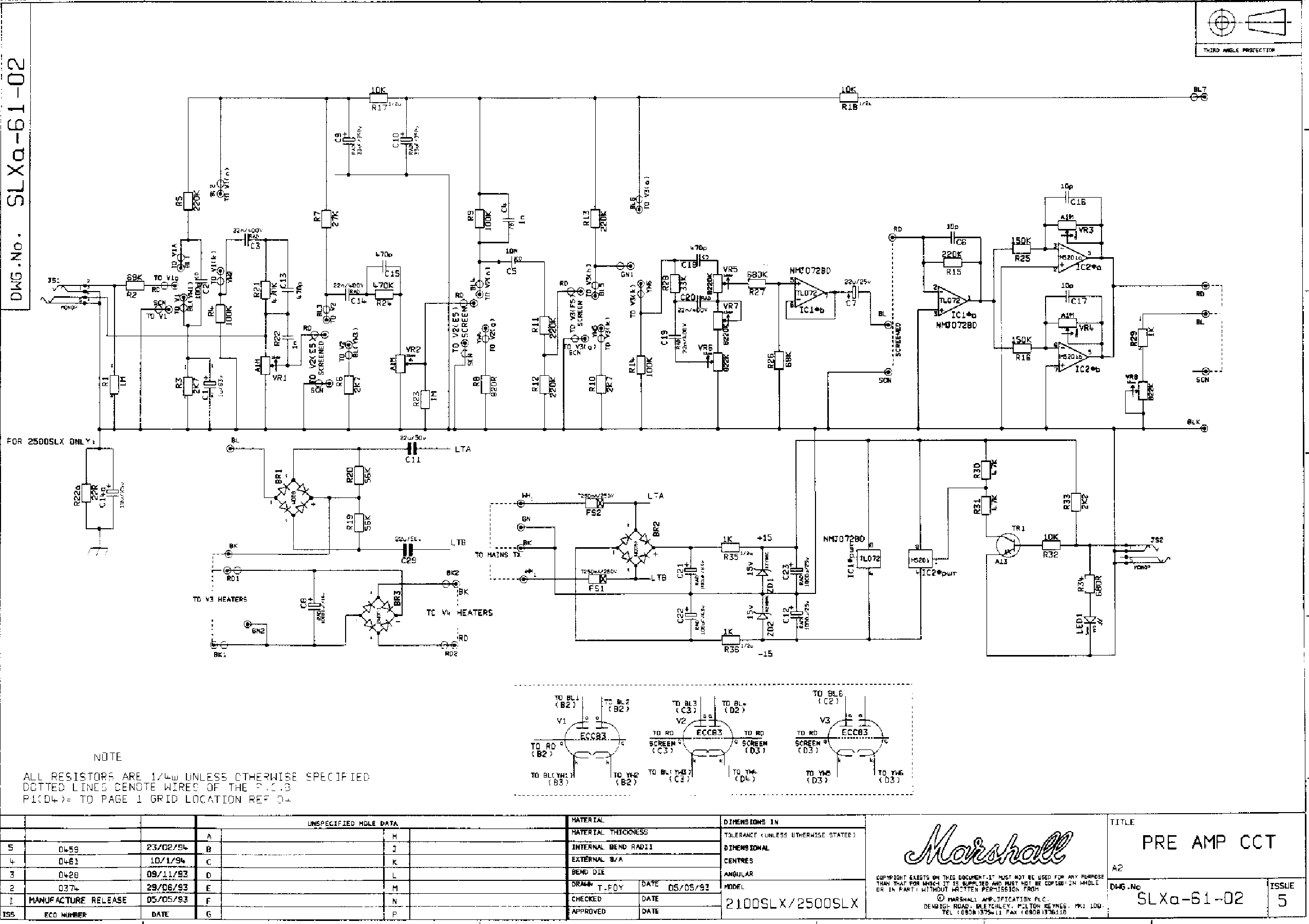 MARSHALL JCM 900 SCHEMATIC EBOOK