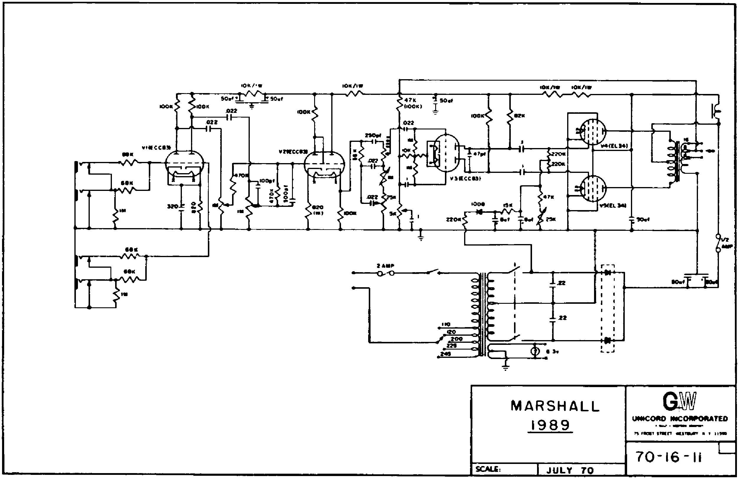 Marshall Jmp Organ 50w 1989u Sch Service Manual Download