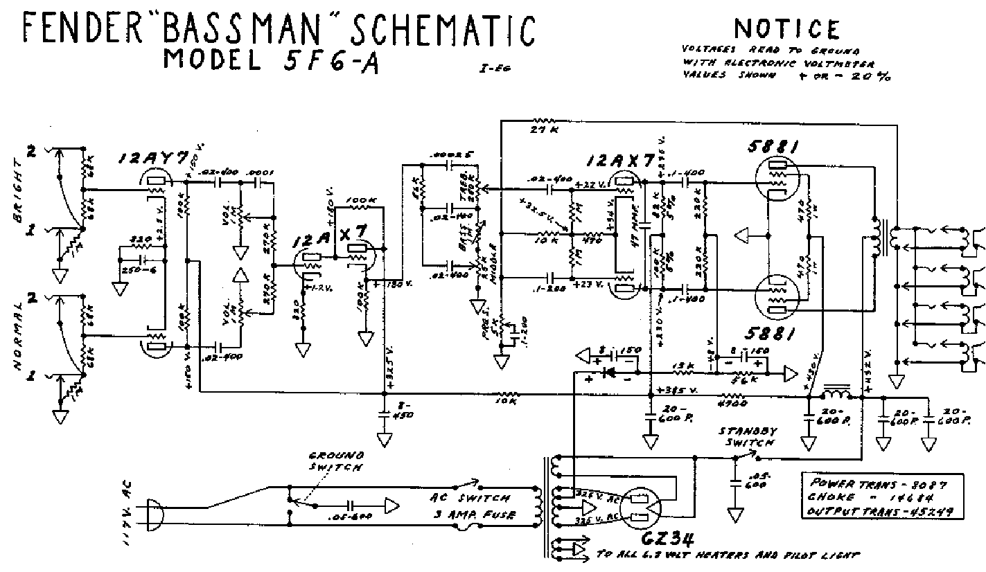 Marshall Jtm 60 Service Manual