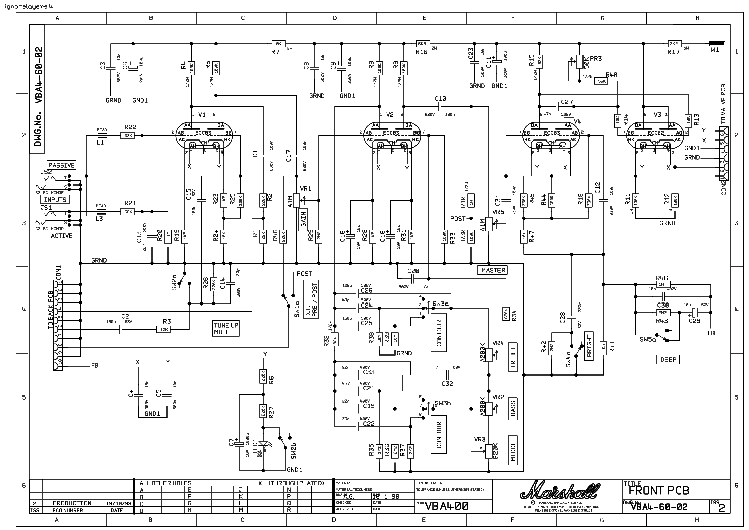 marshall vba400 service manual download  schematics