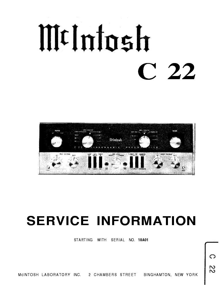 Mcintosh C22