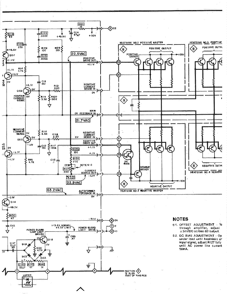 Mcintosh Mc2500 1 Sch Service Manual Download  Schematics