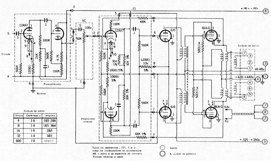 mcintosh mc500 sch service manual download  schematics
