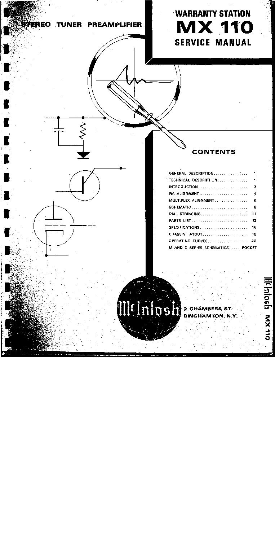 mcintosh mx 110 schematic mcintosh get free image about wiring diagram