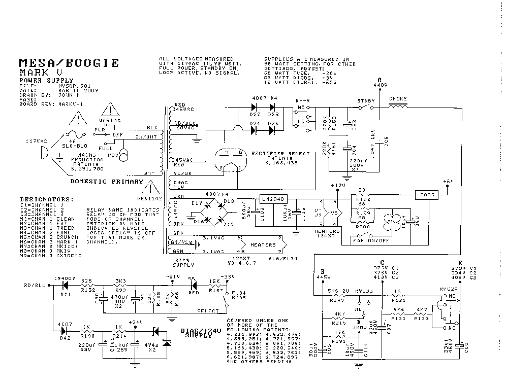 boogie v-twin schematic related keywords & suggestions - boogie v, Wiring schematic