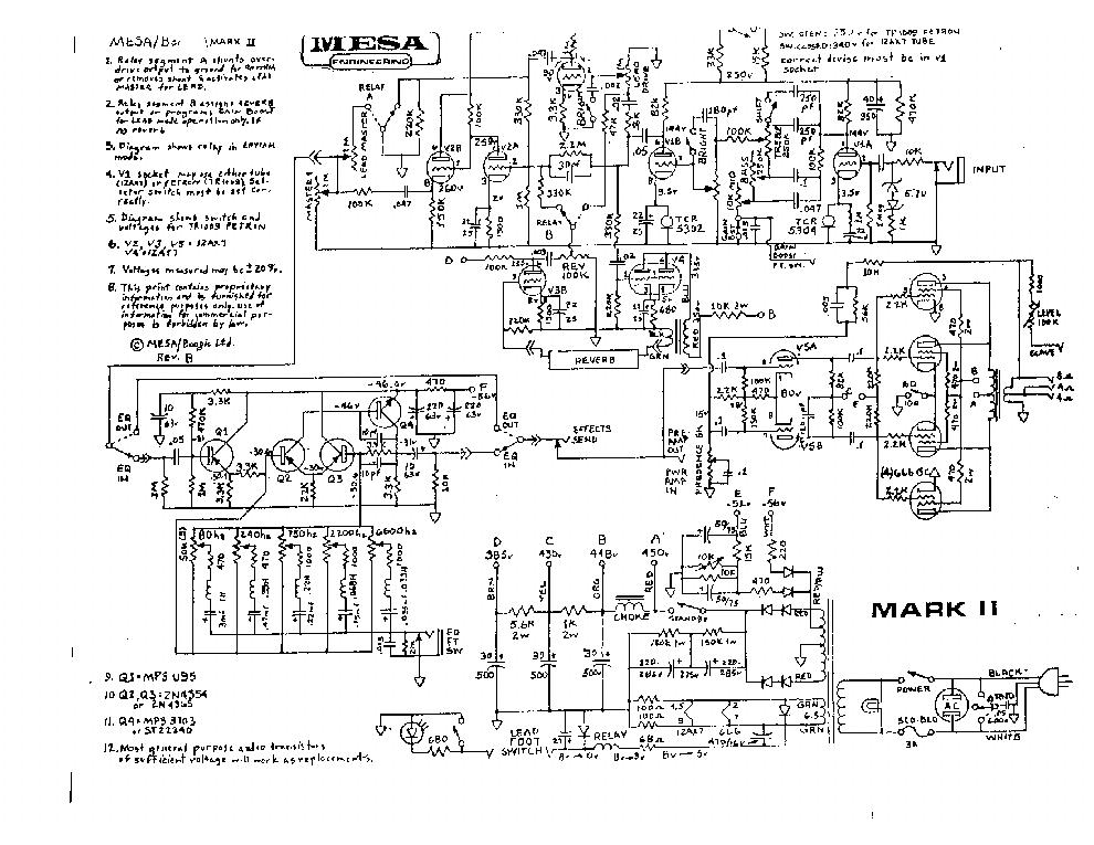 Complete Mark III Schematic - The Boogie Board