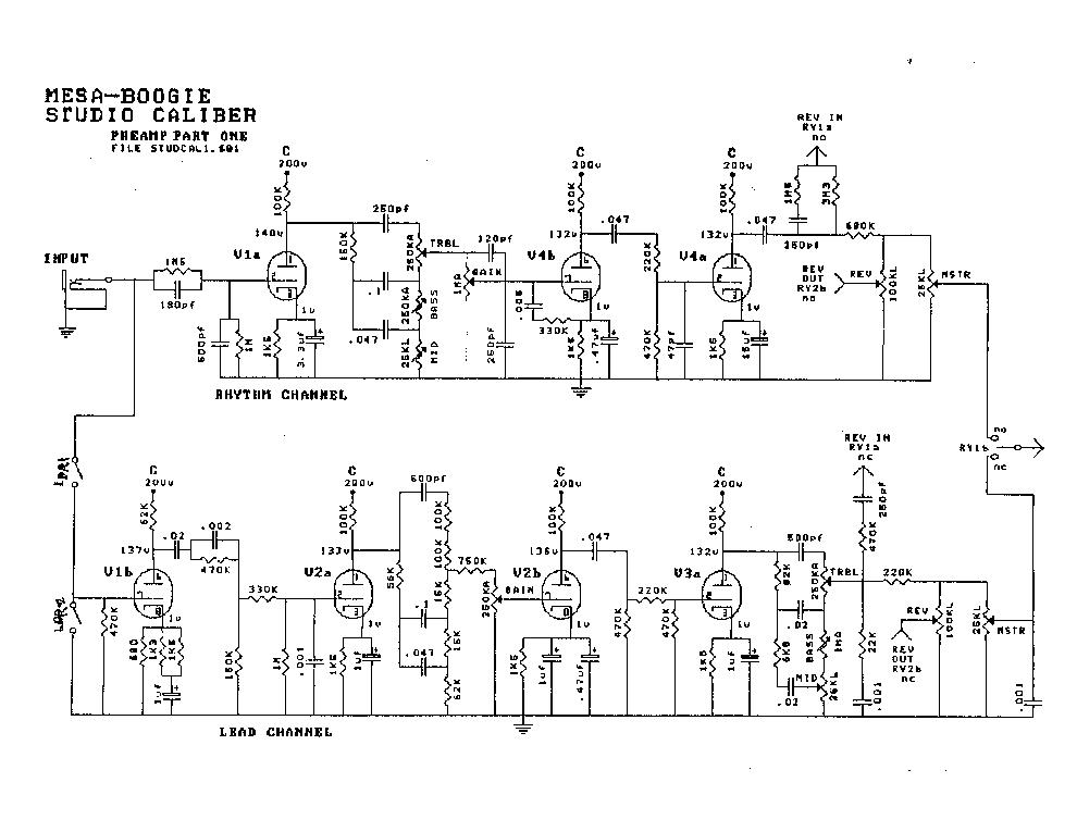 mark v schematic ireleast readingrat net Mesa Boogie 2X12 Cover Mesa Boogie 2X12 Rectifier