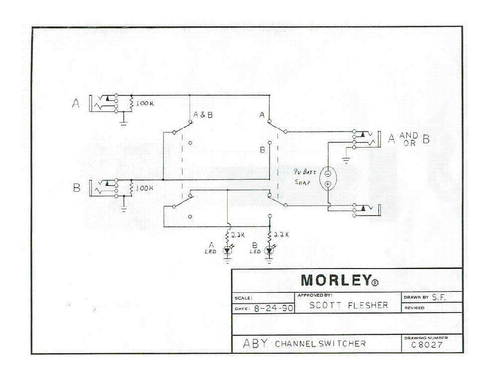 MORLEY ABY CHANNEL SWITCHER SCH Service Manual download ... on