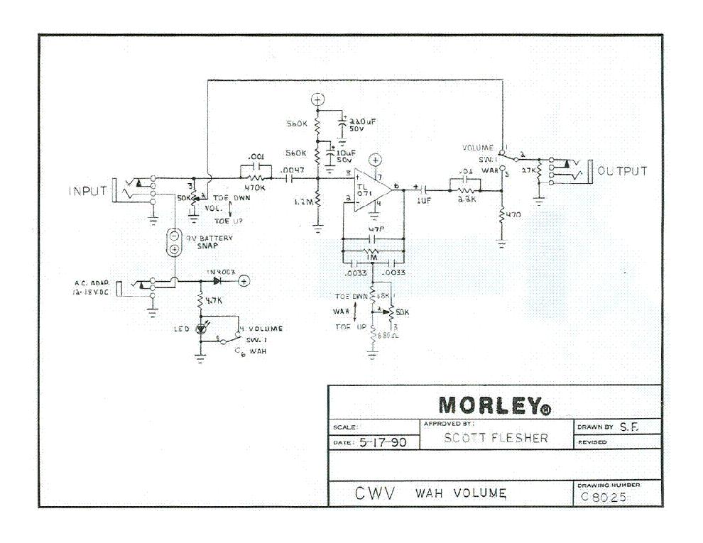 Morley Cwv Wah Volume Sch Service Manual Download