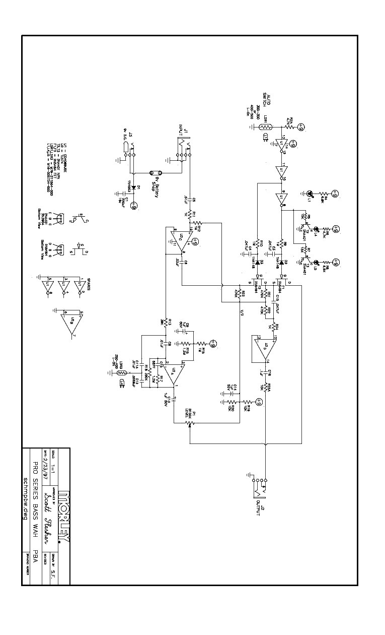 morley pwov power wah volume sch service manual download