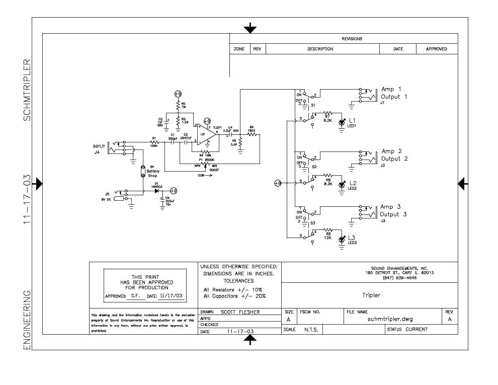 Morley Tripler Service Manual Download  Schematics  Eeprom