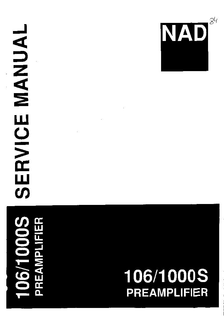 service manual nad 7225pe 7020i receiver