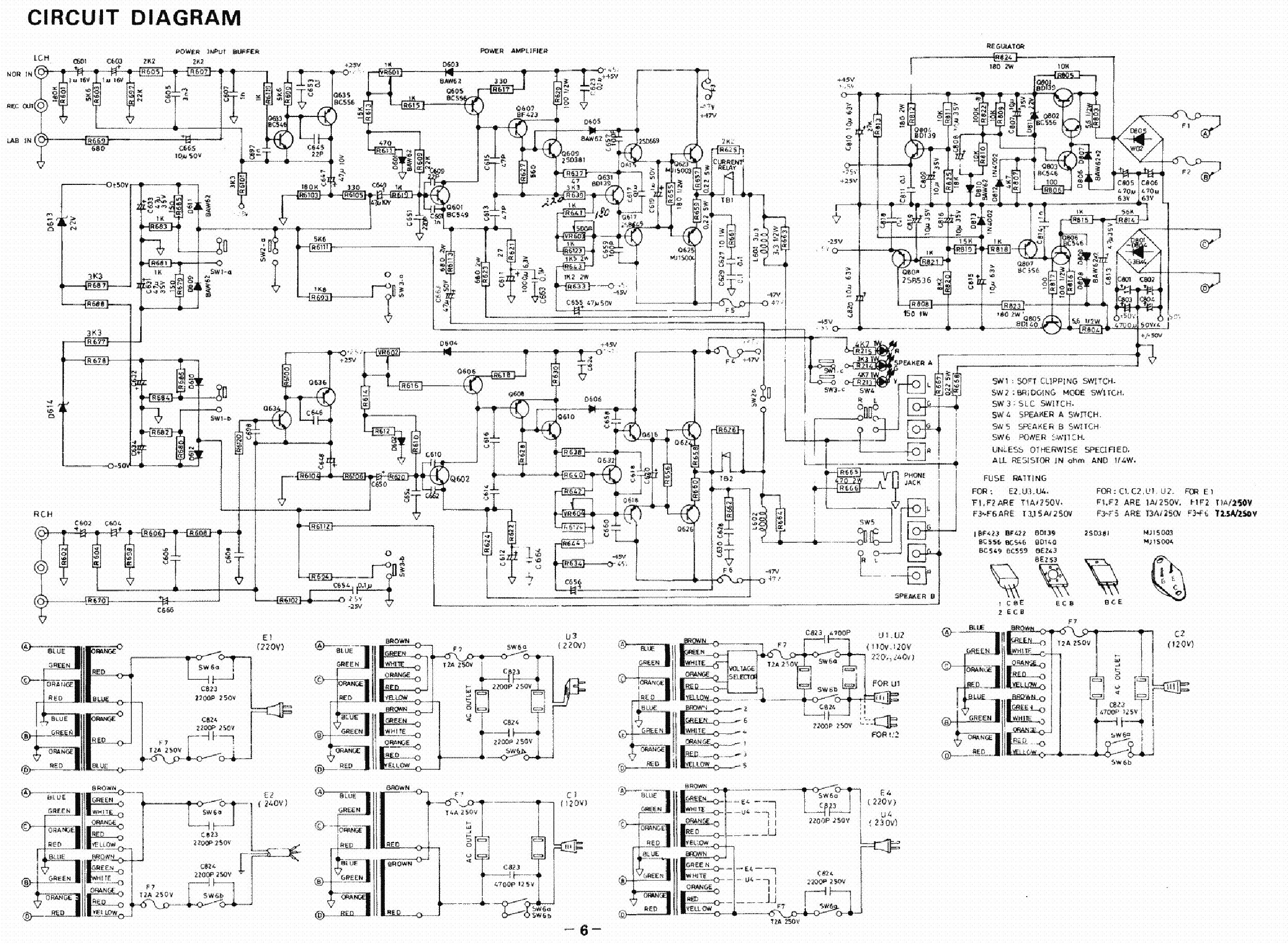 Nad 2140 Sch Service Manual Download  Schematics  Eeprom