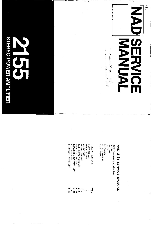 NAD 7045 7060 Service Manual download, schematics, eeprom