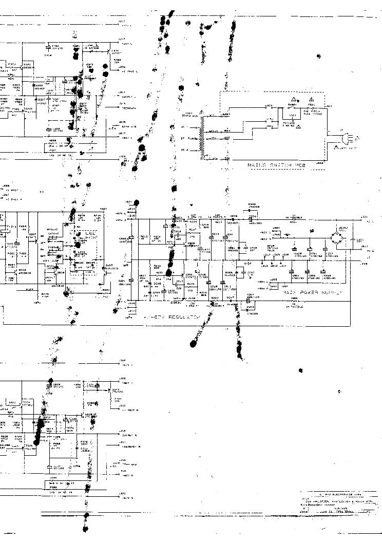 NAD 3020 PARTS SCH Service Manual download, schematics