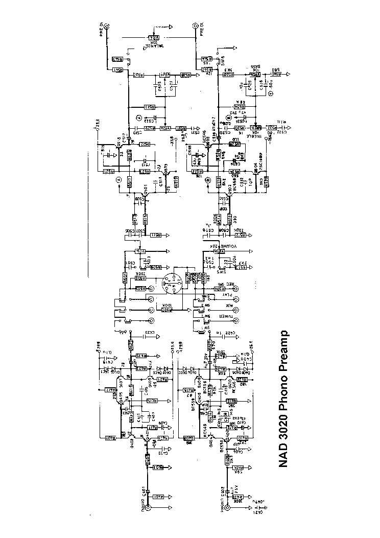 Nad 3020 Sch 2 Service Manual Download  Schematics  Eeprom