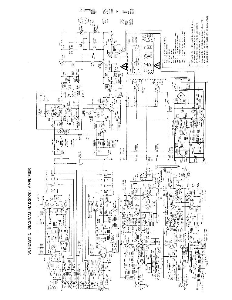 Nad 3020 Circuit Diagram | Nad 3020ii Int Sch 2 Service Manual Download Schematics Eeprom