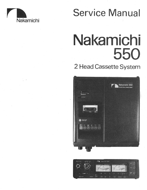 nakamichi 550 sm service manual download schematics eeprom repair rh elektrotanya com Nakamichi 550 Tape Recorder Nakamichi Cassette Deck