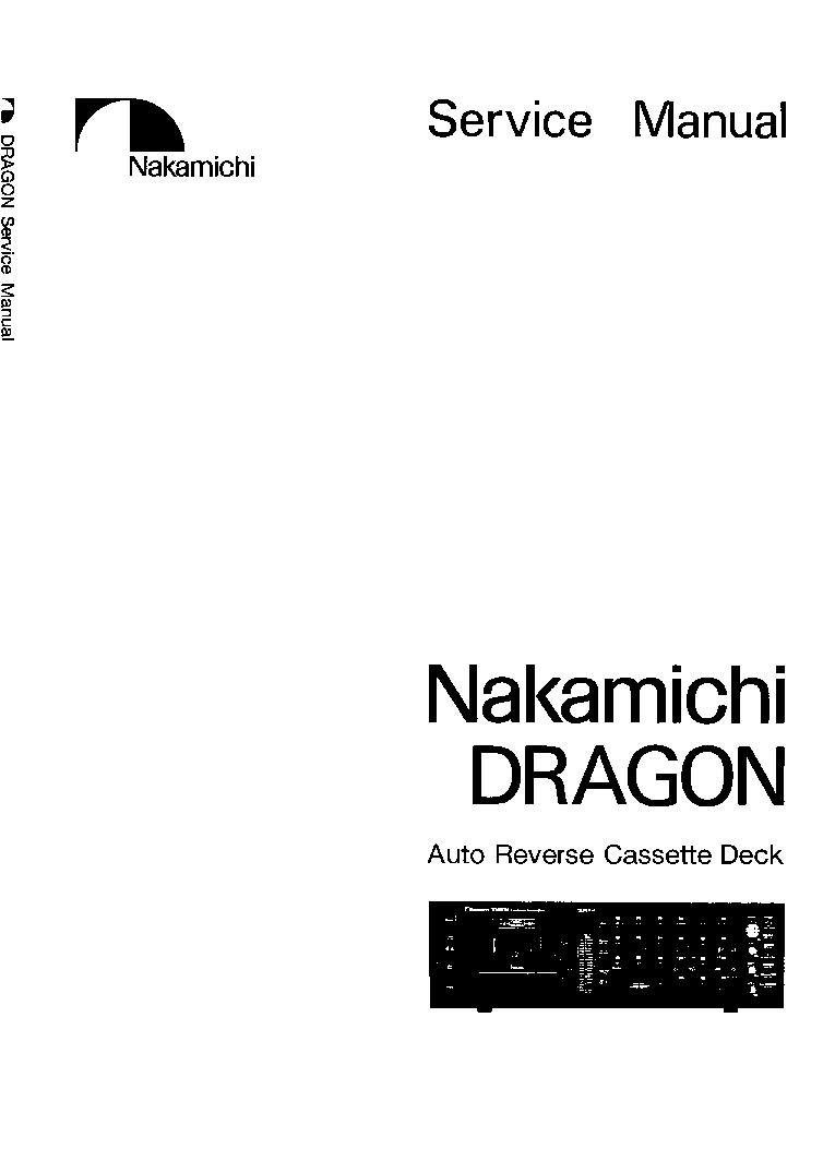 nakamichi dragon sm service manual download schematics eeprom rh elektrotanya com Nakamichi Dragon CD Player Nakamichi Dragon CD Player