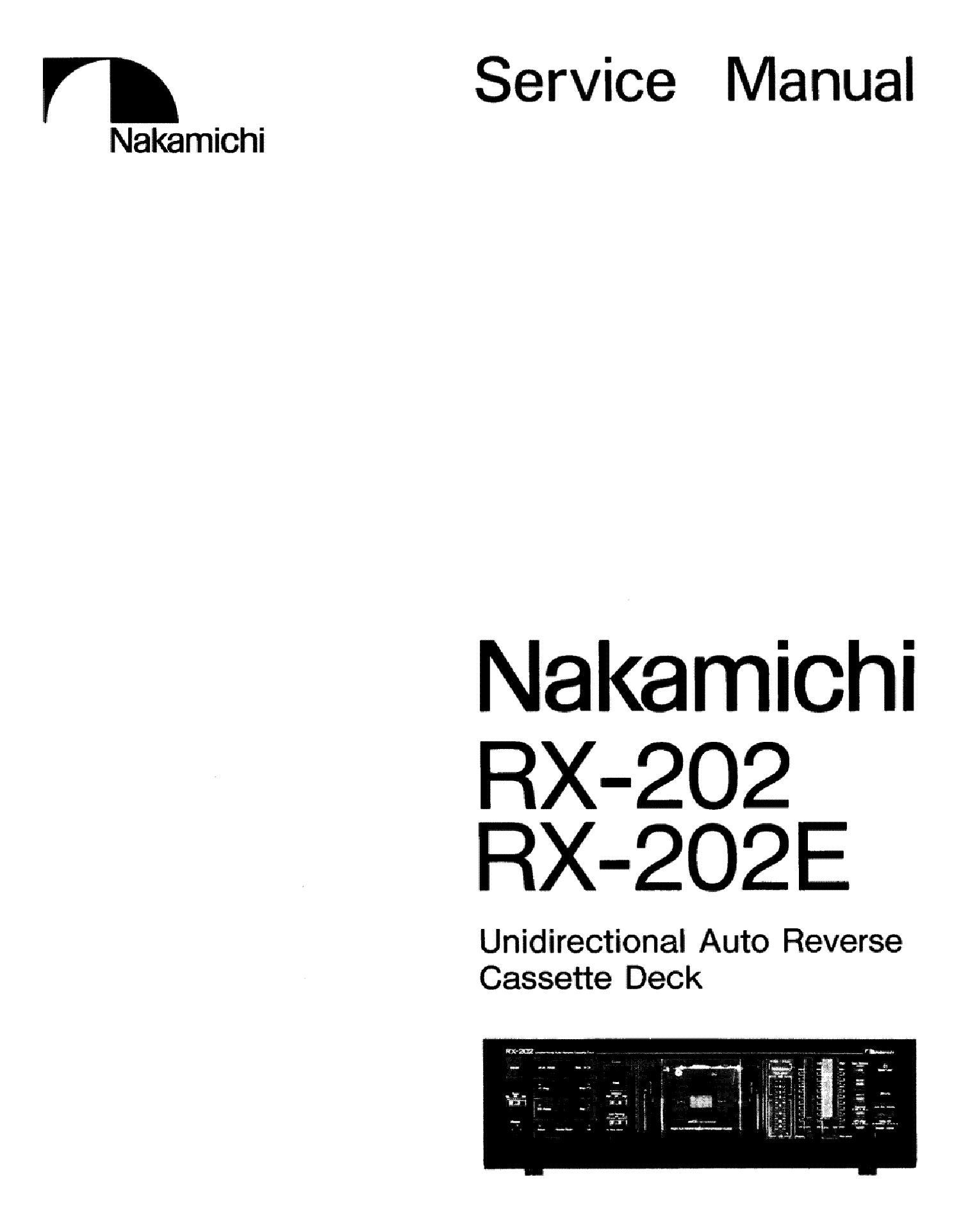 Nakamichi Rx