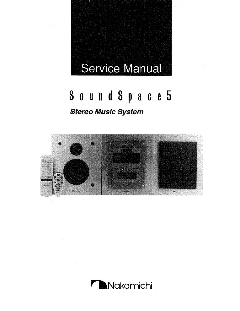 nakamichi sound space 5 sm service manual download schematics rh elektrotanya com Nakamichi Headphones nakamichi soundspace 5 instruction manual