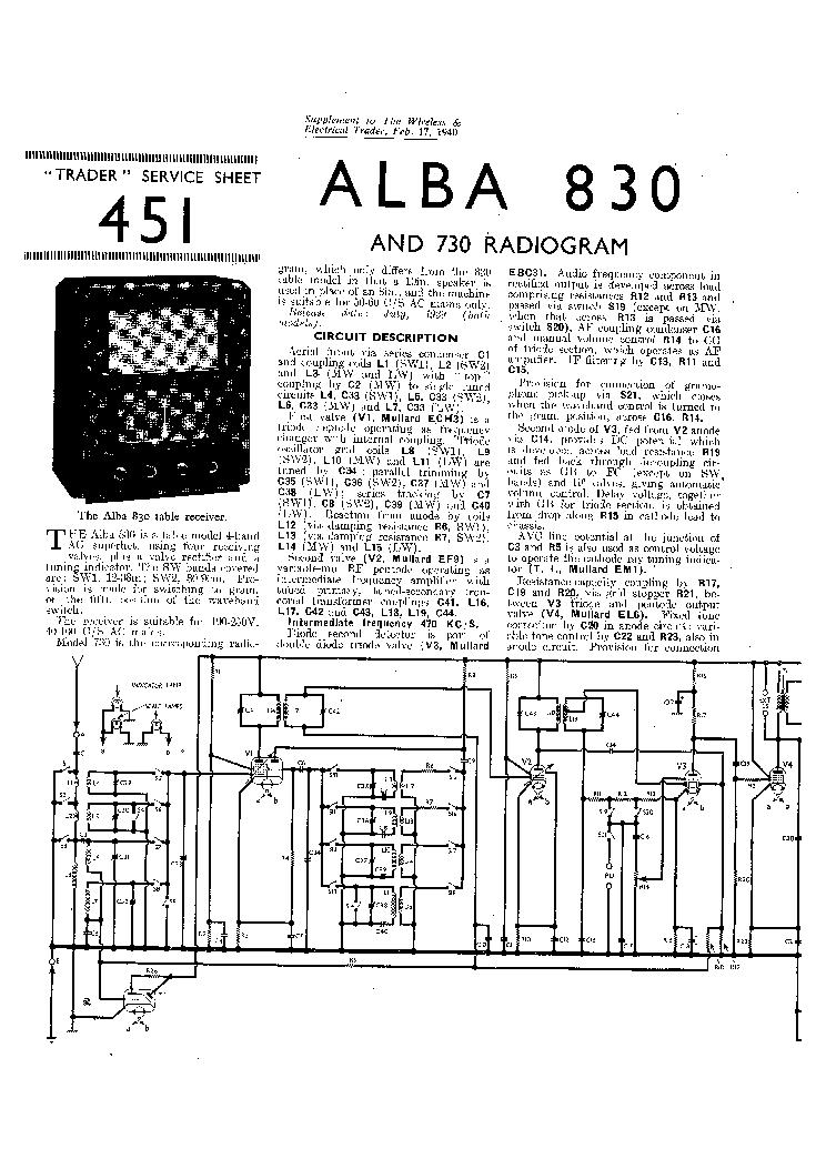 alba 212 battery radio 430 radio