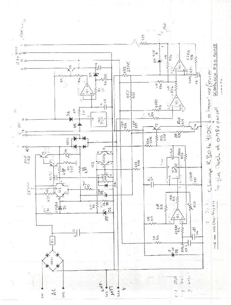 Audiotel Scanlock Vb 10m 2ghz Eavesdropping Receiver 1976 Sch