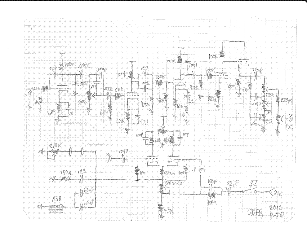 bogner triplegiant preamp service manual download ... bogner schematic
