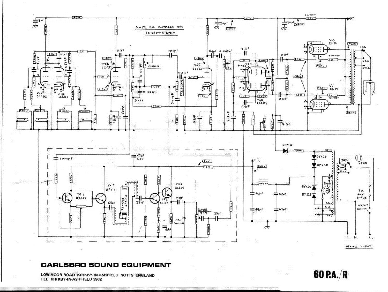 CARLSBRO 60 PA-R SCH service manual (1st page)