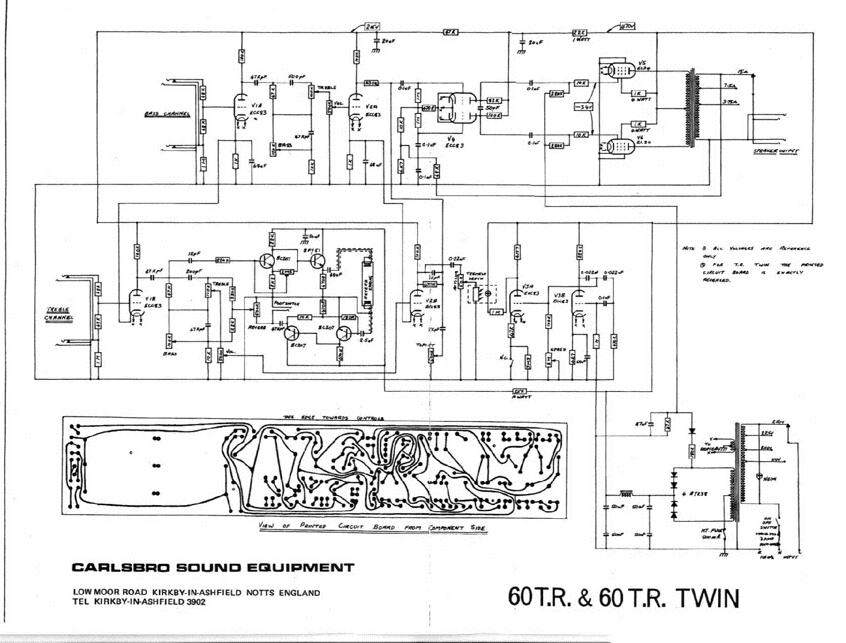 CARLSBRO 60TR 60TR TWIN SCH service manual (1st page)