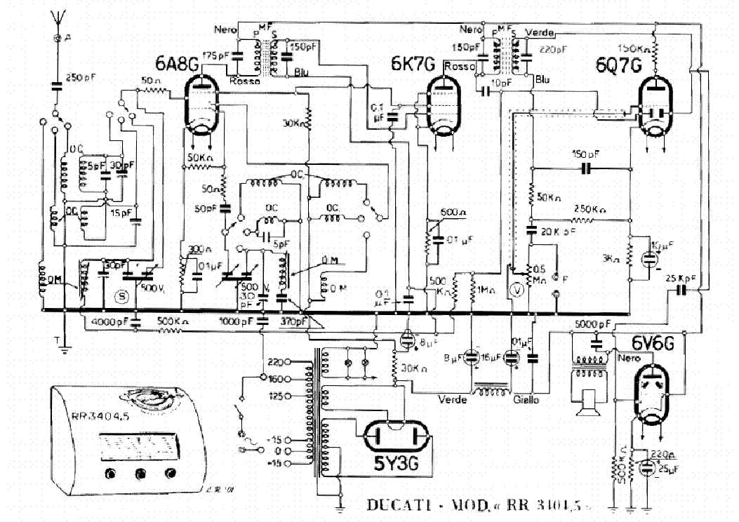 ducati rr3405 sch service manual free download  schematics