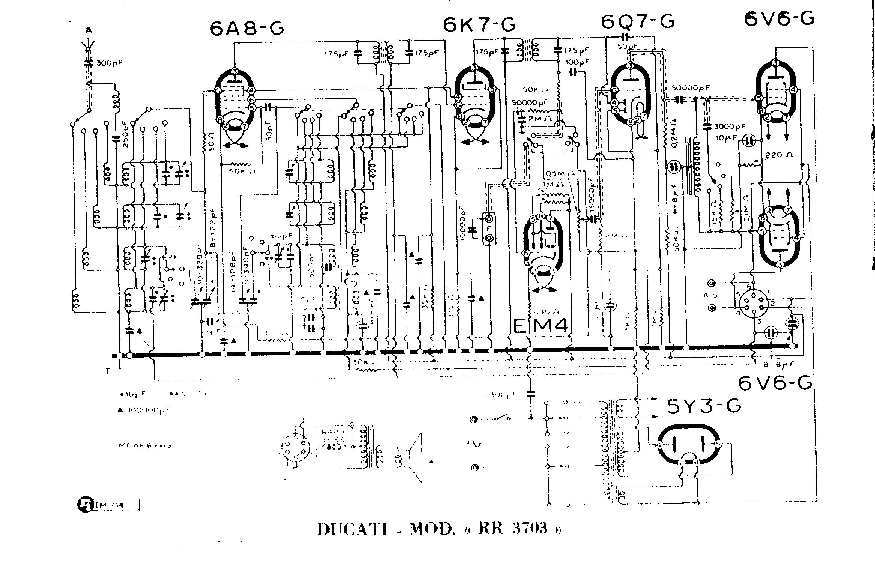 ducati rr3703 sch service manual download  schematics
