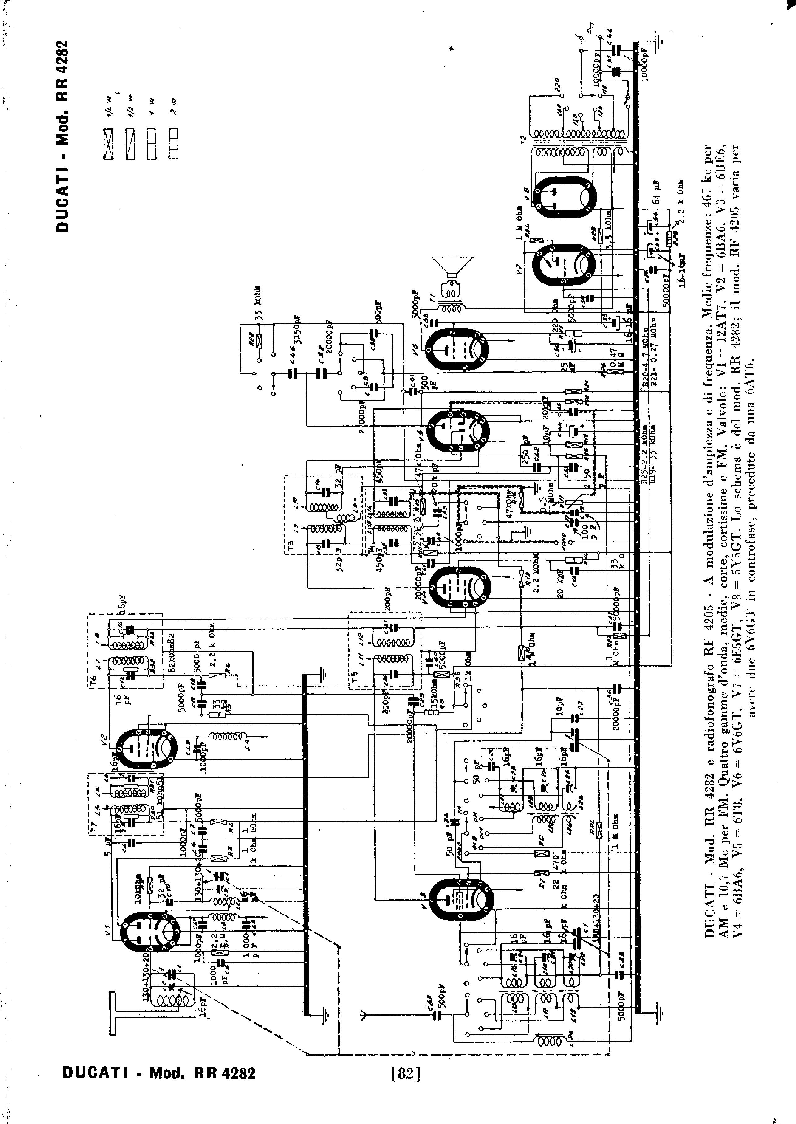 ducati rr4282 sch service manual download  schematics