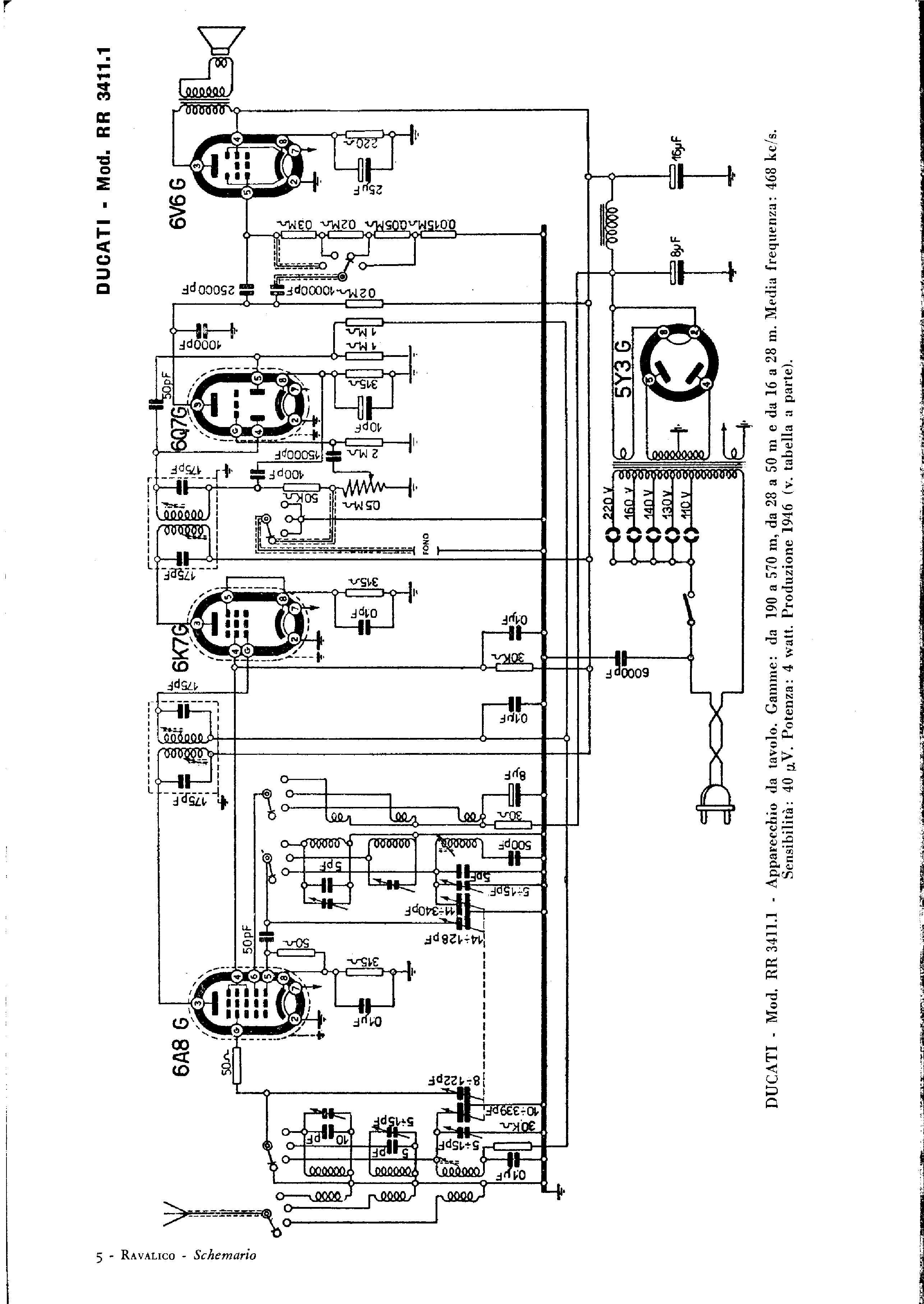 ducati rr4311 sch service manual download  schematics