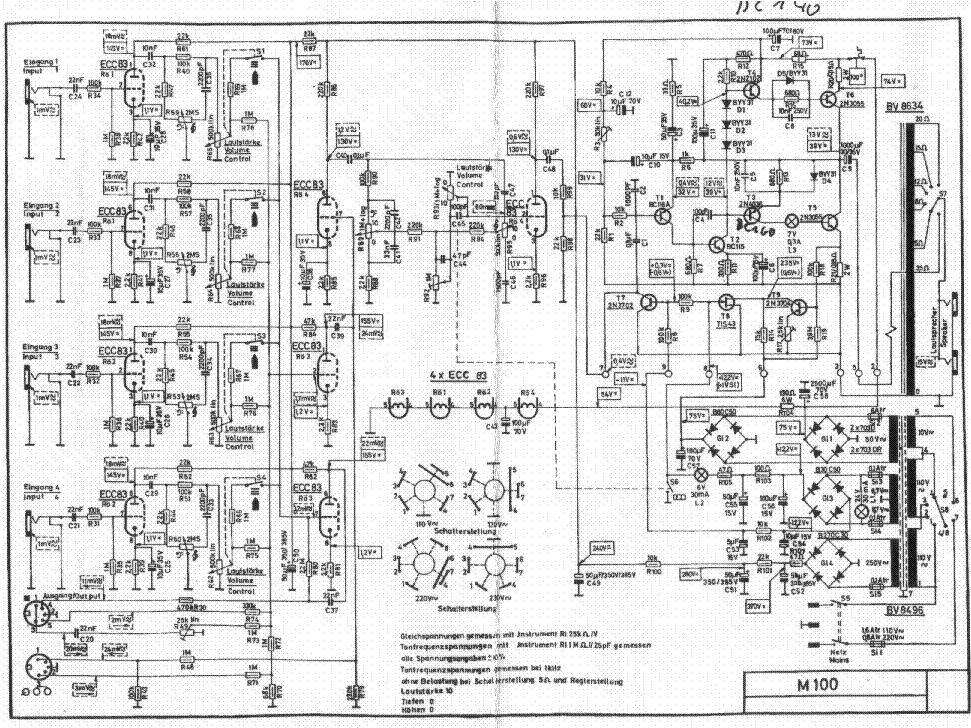 echolette m40 sch service manual download  schematics