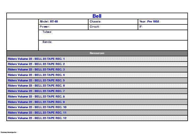 BELL AUDIO SCA2 SCA-2M SCH Service Manual download, schematics ...