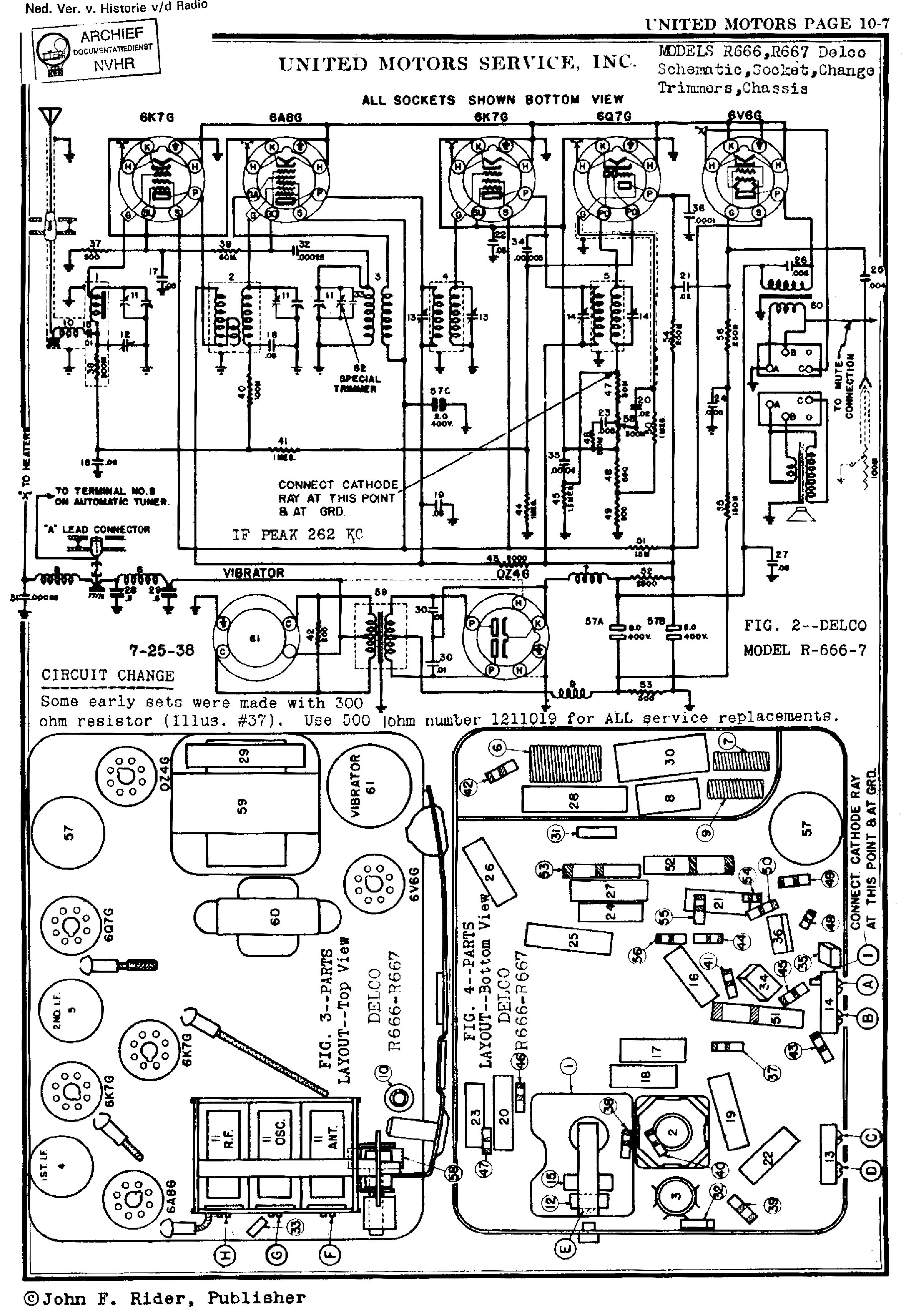 Delco Factory Radios Wiring Diagram