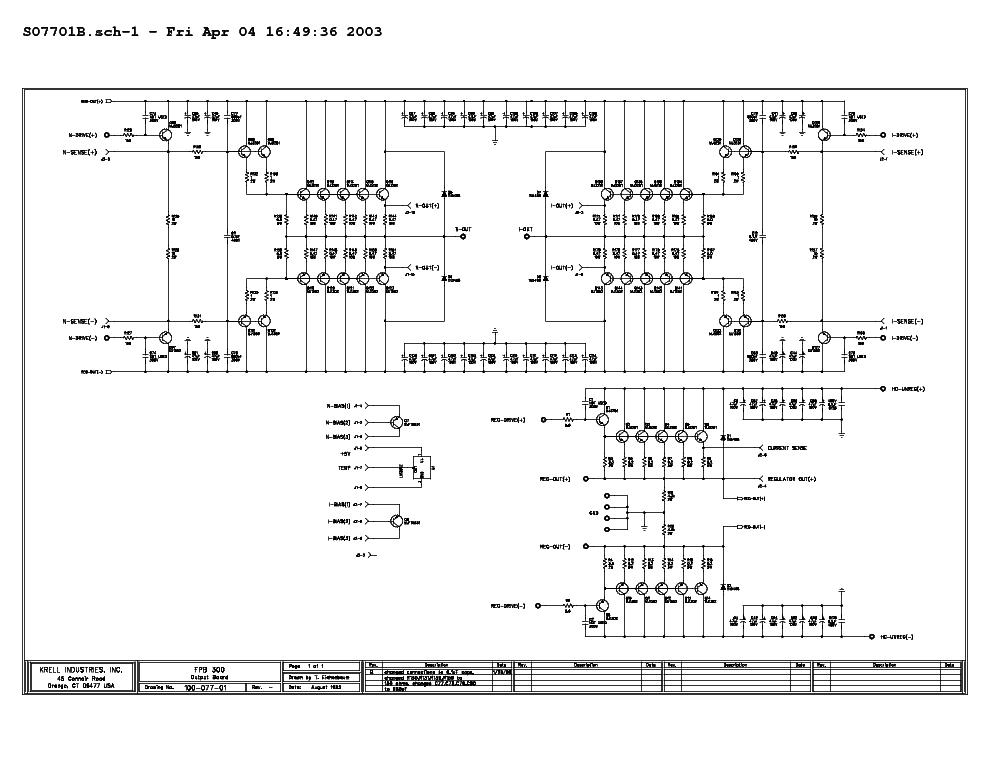 gryphon wiring diagram krell fbp200 fbp250 sch service manual download  krell fbp200 fbp250 sch service manual download
