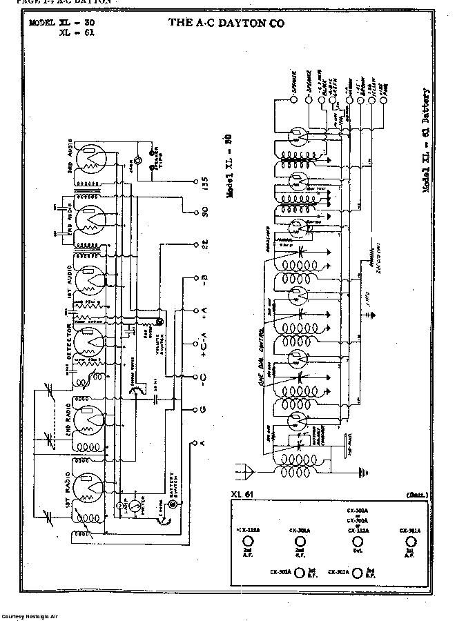the a-c dayton co  xl-30 sch service manual (2nd page)