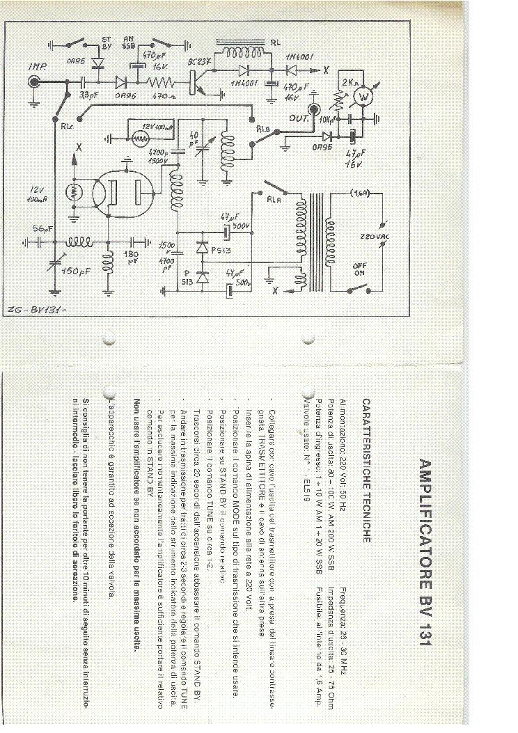 ZETAGI BV131 SCH Service Manual download, schematics, eeprom, repair ...