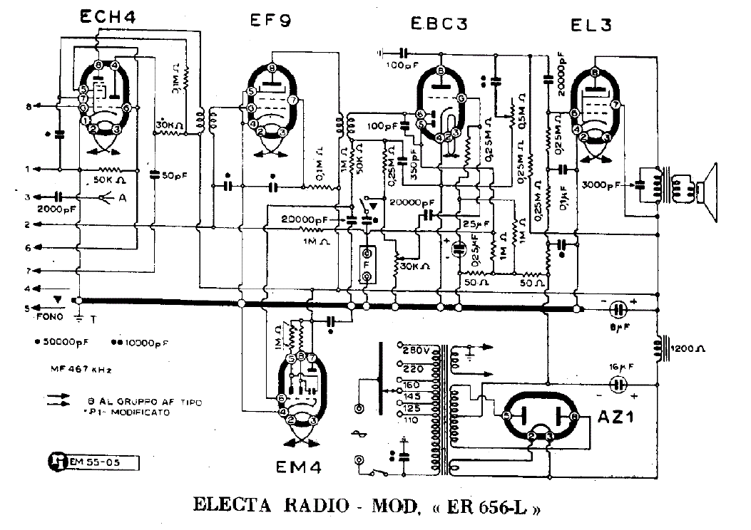 electa radio er856l ii series am radio receiver sch service manual download  schematics  eeprom