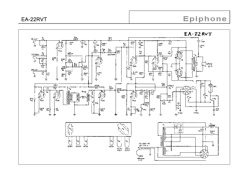 epiphone ea