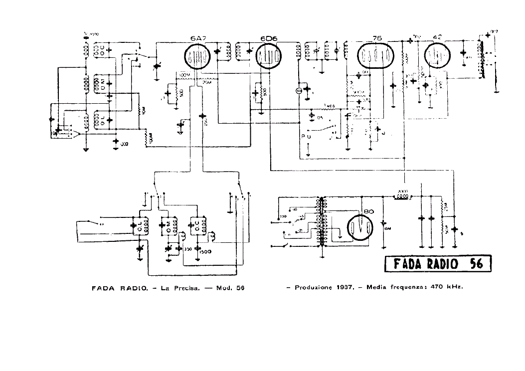 fada 361 radio receiver sch service manual download  schematics  eeprom  repair info for