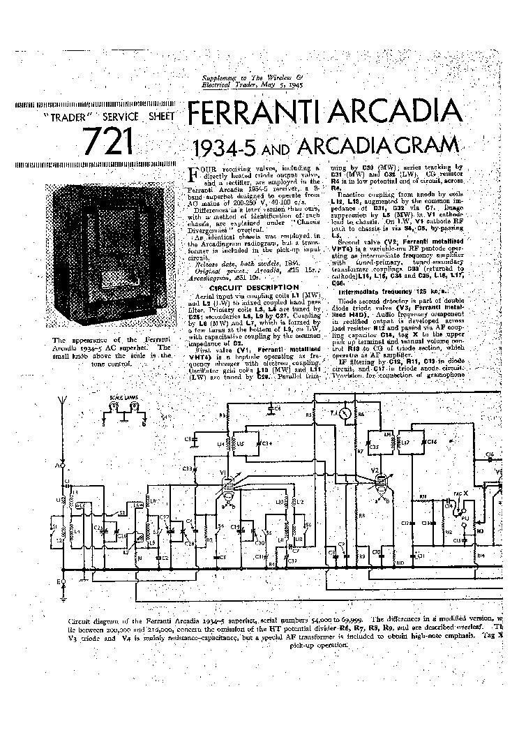 Ferranti 145 Service Manual Download Schematics Eeprom