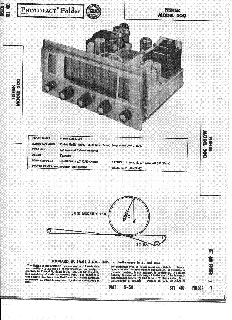 Fisher Ca 550 Sm Service Manual Download Schematics Eeprom Repair 80w Audio Amplifier Based On Tda7295 Circuit Diagram 500